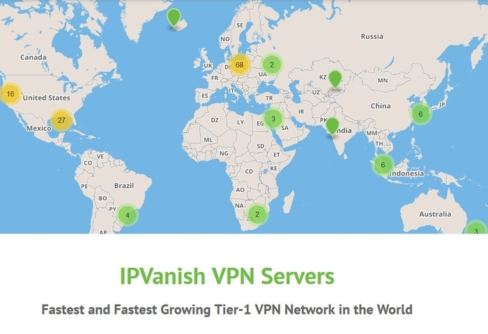 IPVanish VPN Test Server